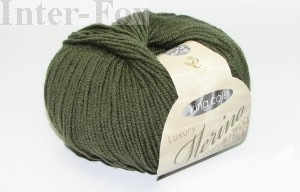 Luxury Merino Superwash, kolor 2625 Mildew-zielony