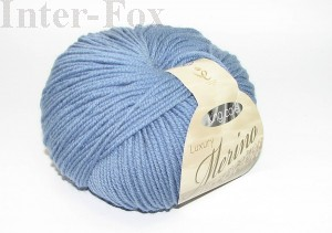 Luxury Merino Superwash, kolor 2614 Steel Blue-Jeans