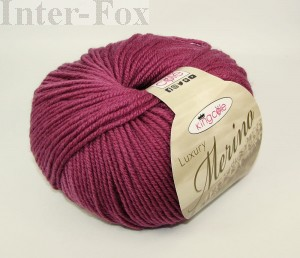 Luxury Merino Superwash, kolor 2639 Antique Rose