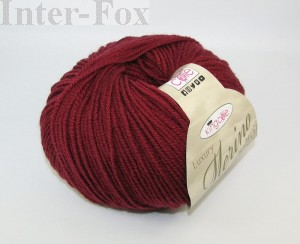 Luxury Merino Superwash, kolor 2637 Merlot