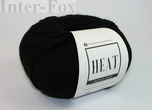Heat  Superwash, kolor 099 czarny