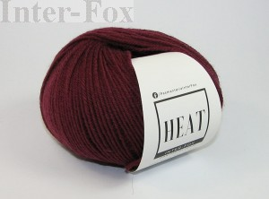 Heat  Superwash, kolor 035 bordo