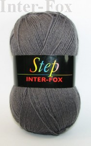 Step Basic, Superwash kolor nr 597 szary