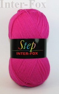 Step Basic, Superwash kolor nr 542 różowy