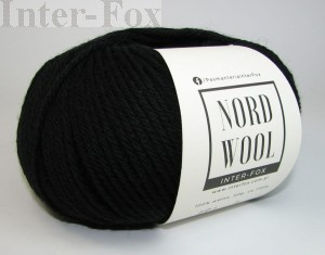 Nord Wool  Superwash, kolor 101 Czarny