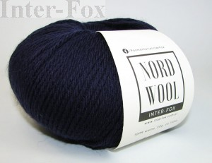 Nord Wool  Superwash, kolor 118 Granat