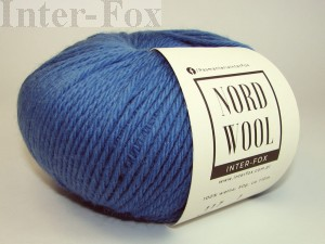 Nord Wool  Superwash, kolor 117 Niebieski