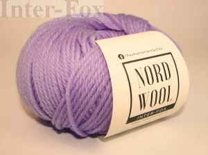 Nord Wool  Superwash, kolor 119 Lawenda