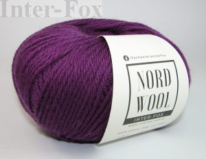 Nord Wool  Superwash, kolor 121 Hiacynt