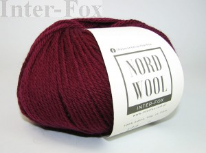 Nord Wool  Superwash, kolor 108 Bordo