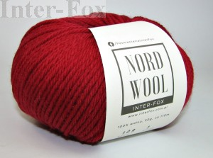 Nord Wool  Superwash, kolor 109 Wino