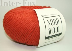 Nord Wool  Superwash, kolor 110 Cayenne