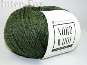 Nord Wool  Superwash, kolor 114 Forest