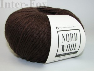 Nord Wool  Superwash, kolor 107 Brąz