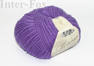 Luxury Merino Superwash, kolor 2628 Hyacinth.