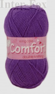 Comfort DK (King Cole) nr 586 fioletowy