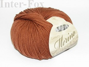 Luxury Merino Superwash, kolor 2629 Gingerbread-koniak.