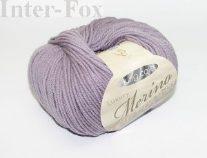 Luxury Merino Superwash, kolor 2617 Wisteria.