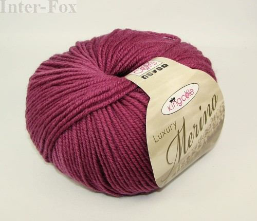 Włóczka King Cole Luxury Merino Antique Rose 2639.JPG